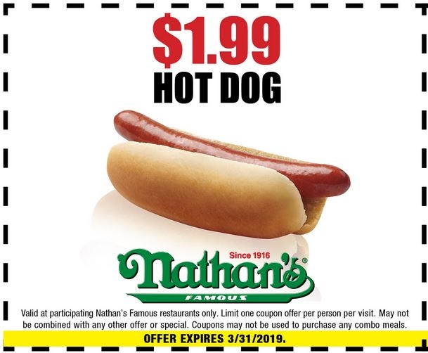 image about Nathans Printable Coupons named Nathans Popular Coupon codes, Promo Codes Discounts Sep-2019